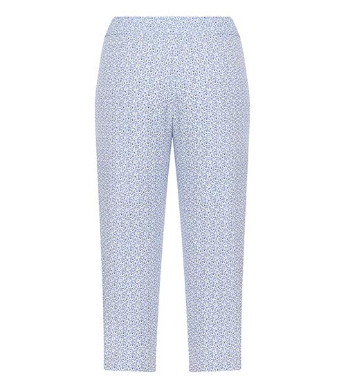 Ice Blue Bermuda Pants front view