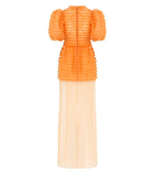 Sea Urchin Tulle Dress front view
