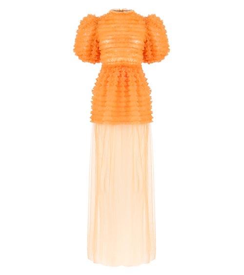 Sea Urchin Tulle Elbise önden görünümü