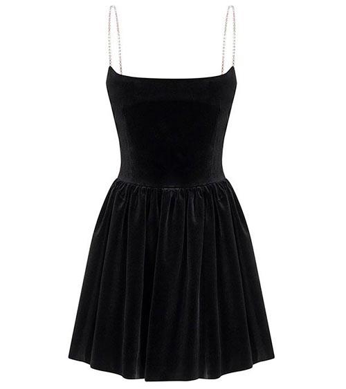 Assel Mini Elbise önden görünümü