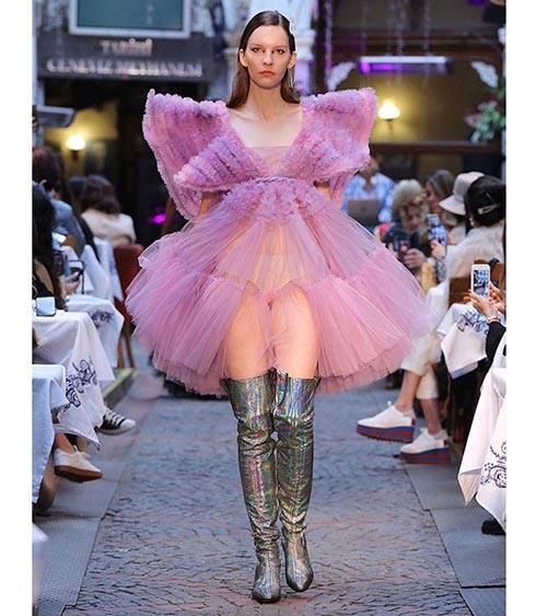 Candy Seraph Dress model view
