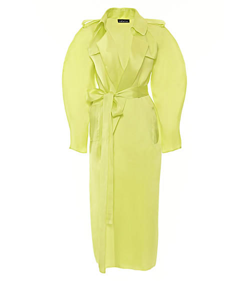 Organza Trenchcoat front view