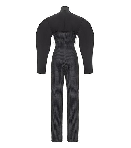 East Oriented Quilted Ski Suit önden görünümü