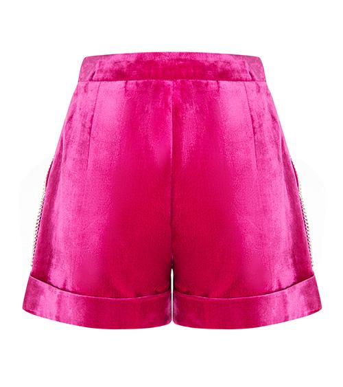 Eastern Glamour Mini Short back view