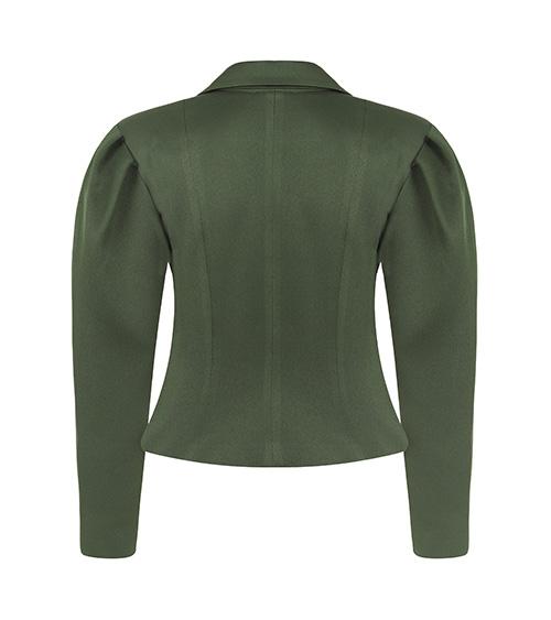 Khaki Corset Jacket front view