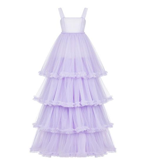 Layered Tulle Elbise önden görünümü