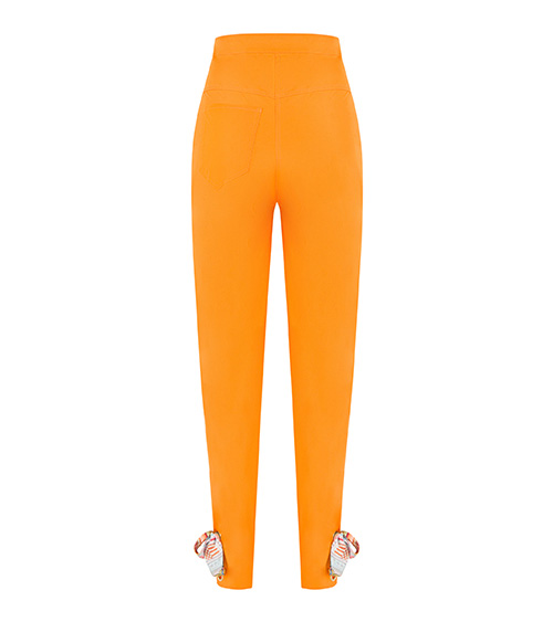 Mussel Shell Trousers front view