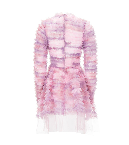 Pinky Marshmallow Elbise arkadan görünümü