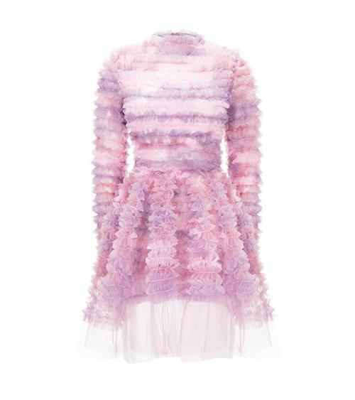 Pinky Marshmallow Elbise önden görünümü