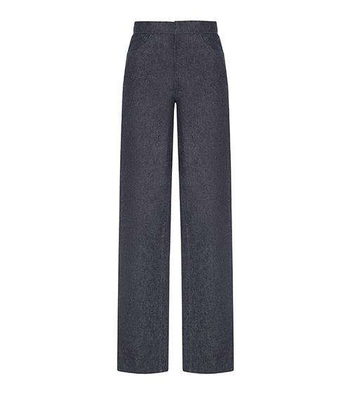 Raw Denim Pants front view