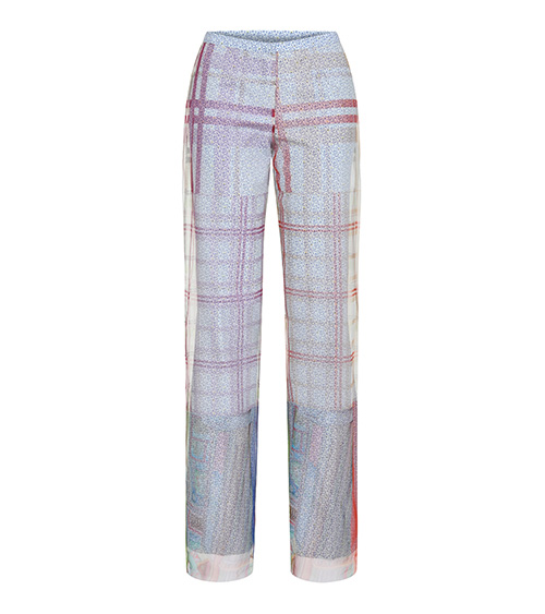 Sea Shell Tulle Layered Pantolon önden görünümü