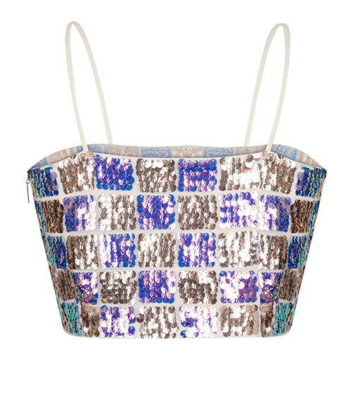 Sequined Top front view
