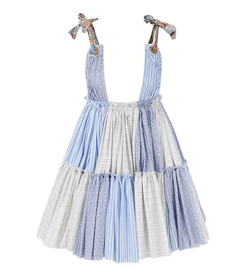 Cloudet Mini Elbise önden görünümü