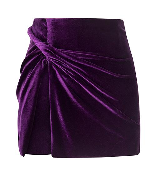 Twisted Wrap Mini Etek önden görünümü