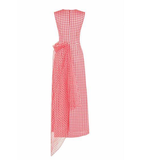 Red Poulle elbise önden görünümü