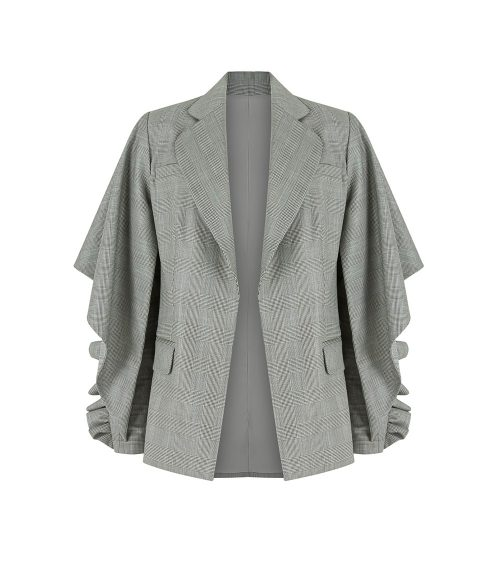 semi formal jacket front view