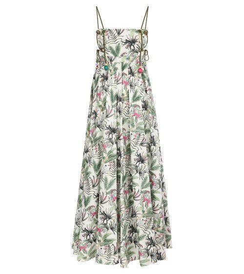 Jane Maxi Elbise önden görünümü