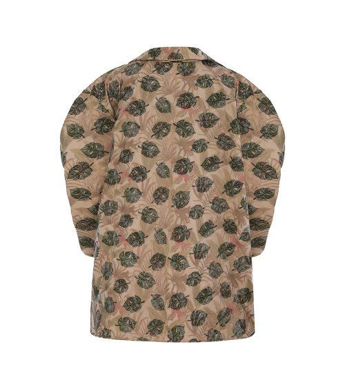 Jungle Balloon Sleeve Ceket önden görünümü