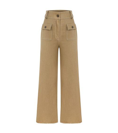 Jungle Denim Pants front view