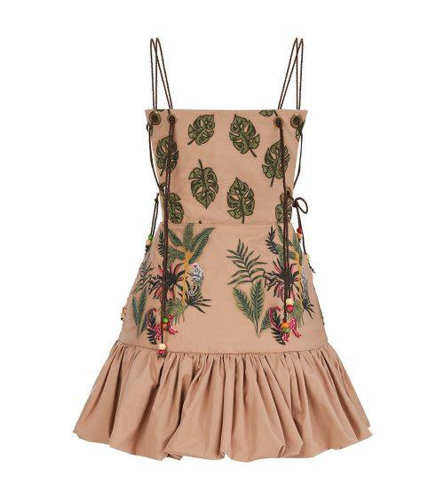 Jungle Mini elbise önden görünümü