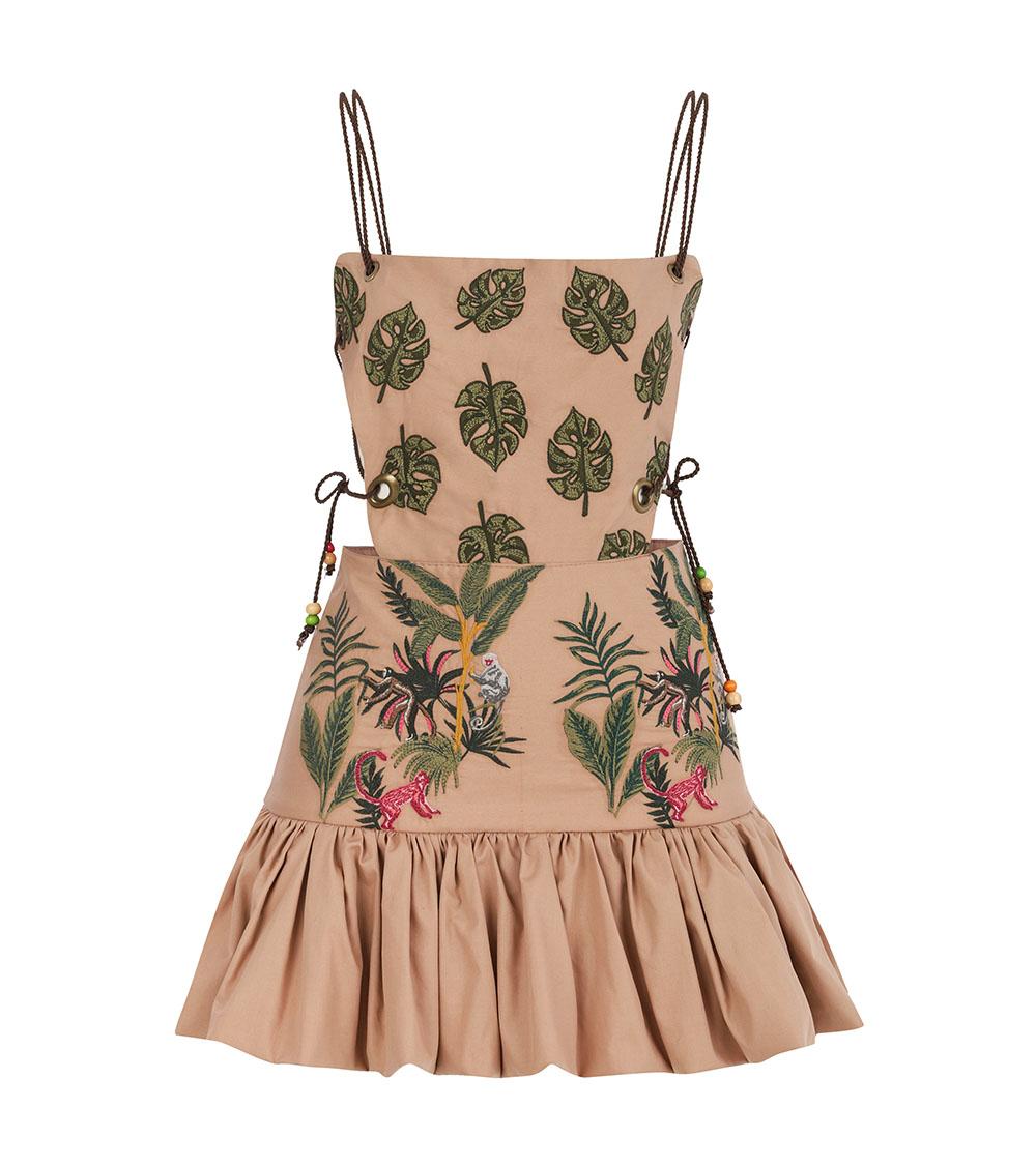 Jungle Mini Dress front view