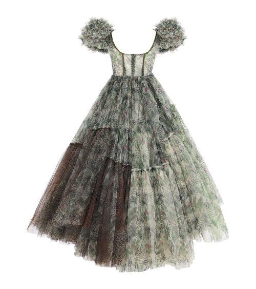 Nixie Jungle Tulle Elbise arkadan görünümü
