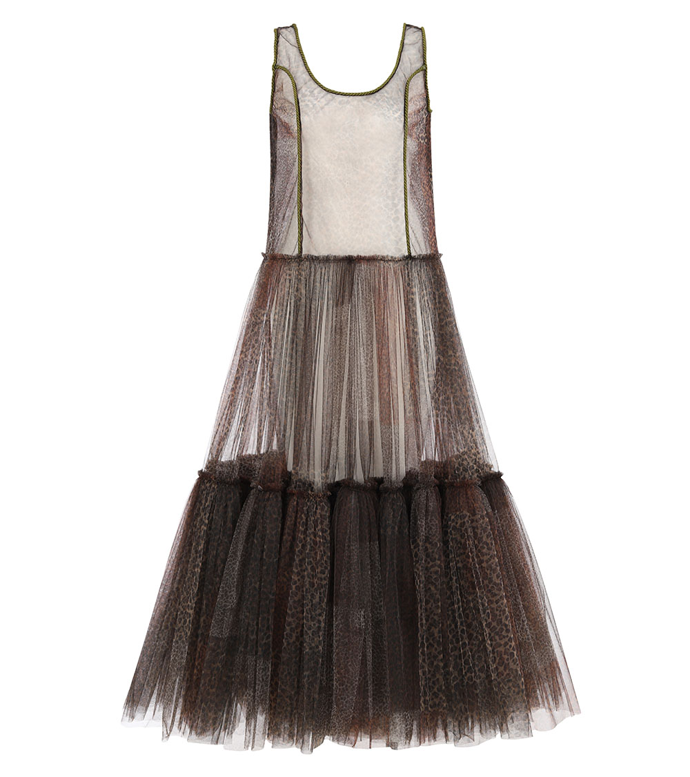 Safari Tulle Dress front view