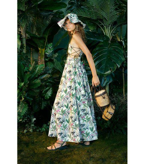 Jane Maxi Dress model view