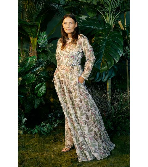Wilderness Organza Elbise manken üzerinde görünümü