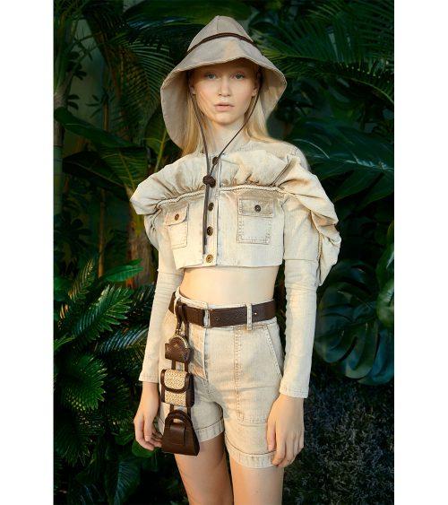 Safari Denim Ceket manken üzerinde görünümü