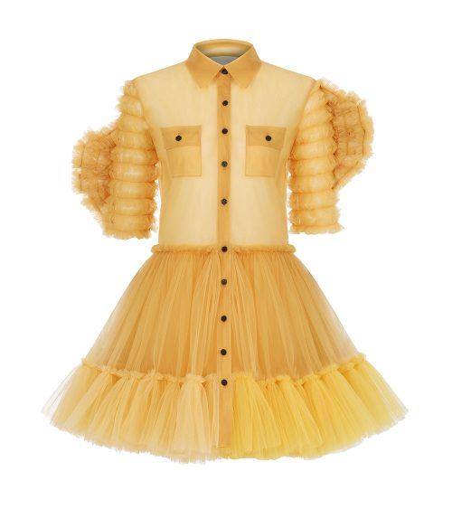 Sundowner Tulle Dress front view