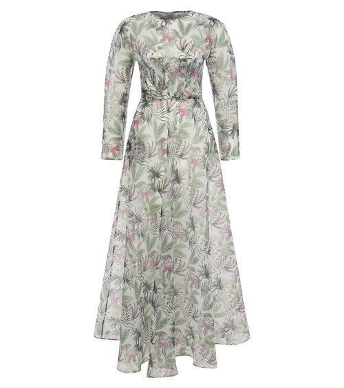 Wilderness Organza Elbise önden görünümü