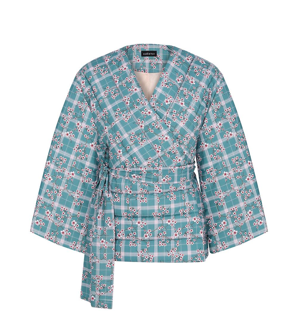 blossom puffer kimona front view