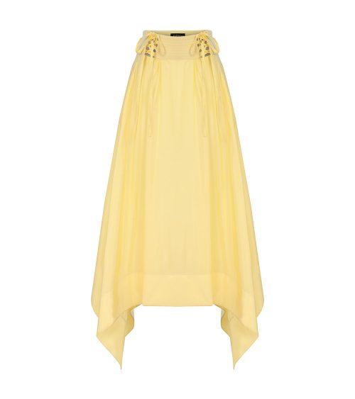 hakama skirt front view