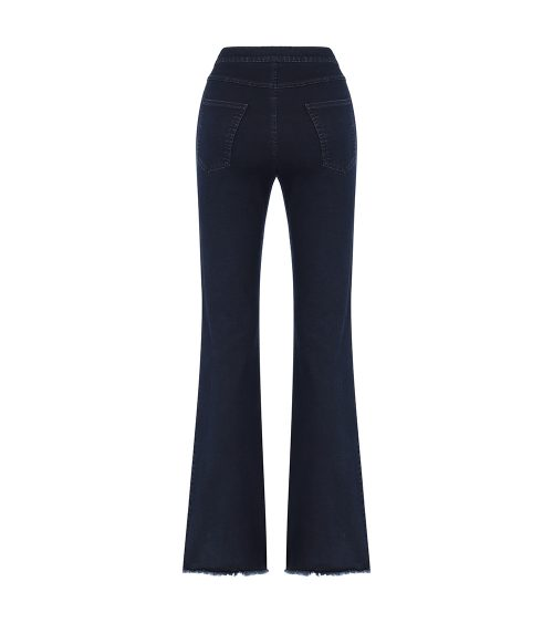 lera flare jeans back view