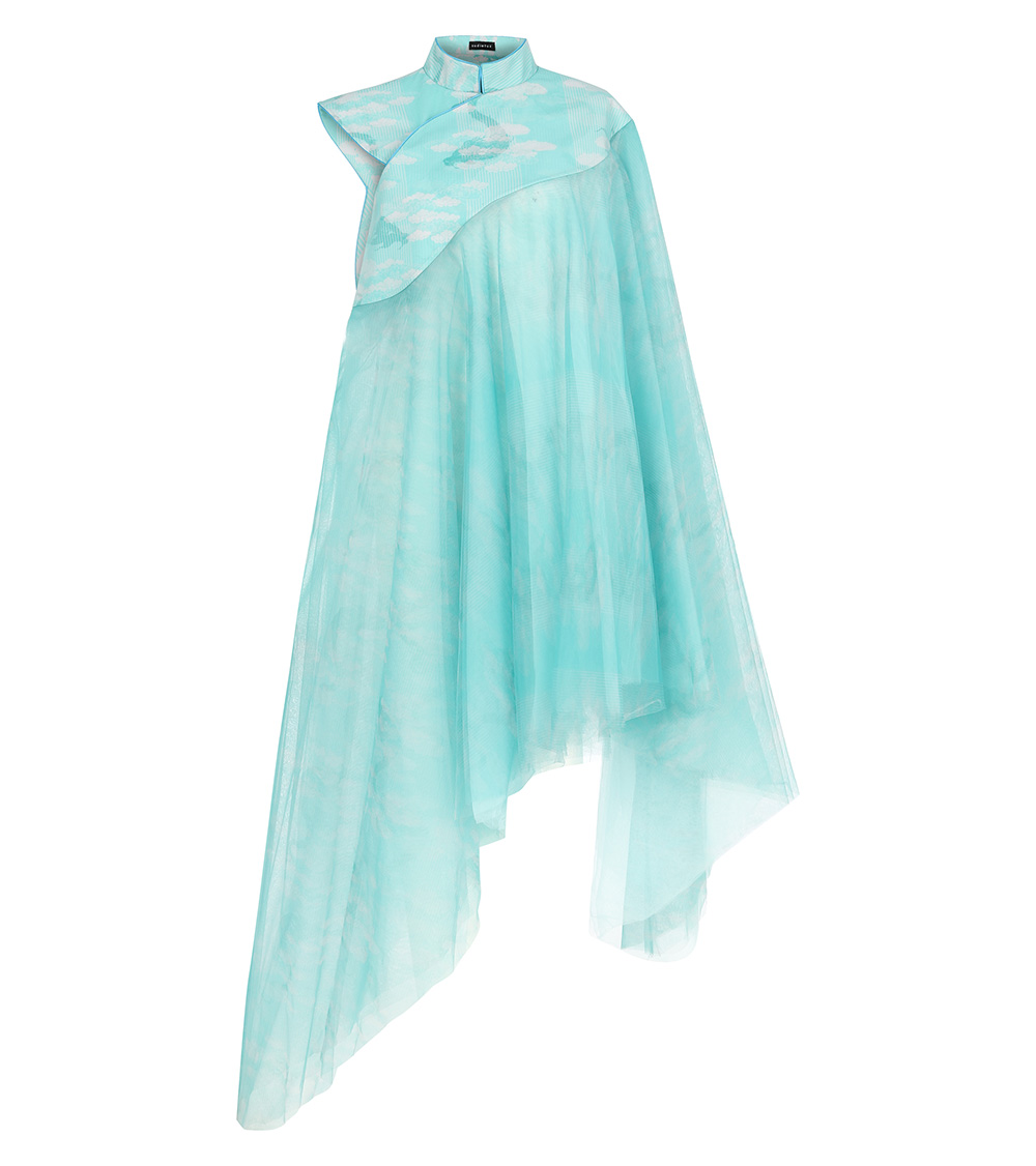 okisan tulle dress front view