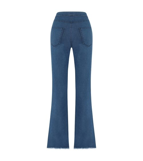 ponyo flare pants back view