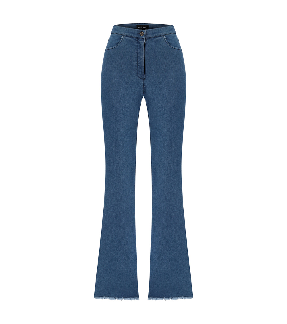 ponyo flare pants front view