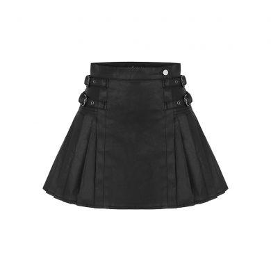 scotch mini skirt front view